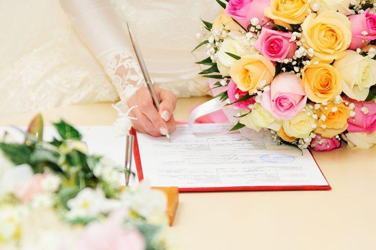 Quais os documentos necessários para casar?