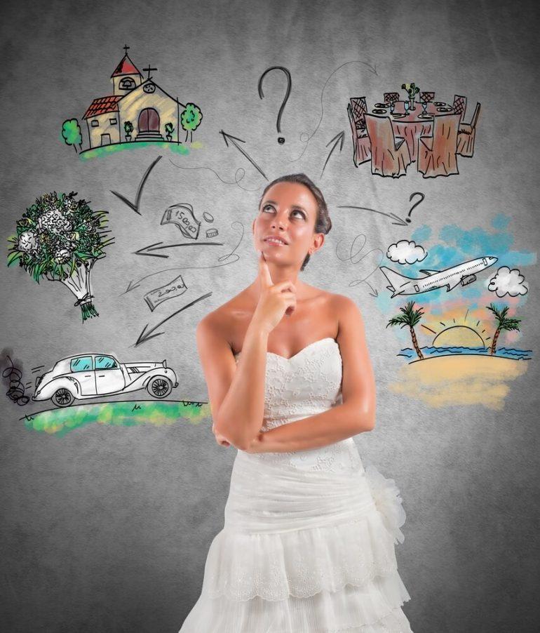 Os 7 primeiros passos para começar a organizar o seu casamento